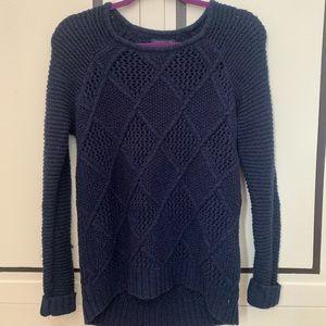 Dark Blue Cozy Sweater
